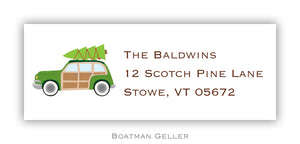 Woody Personalized Address Label