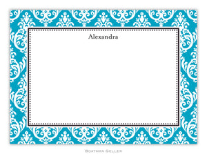 Madison Teal Flat Card