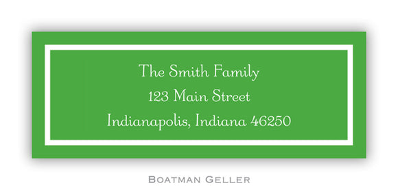 classic kelly Personalized Address Label