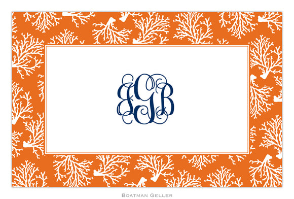 Coral Repeat Placemat