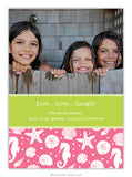 Jetties Pink Photo Cards