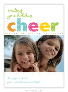 Cheer Dot Photo Cards