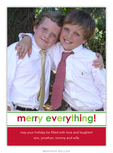 Merry Everything Photo Cards
