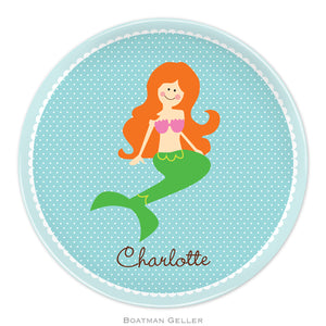 Mermaid Protrait Plate