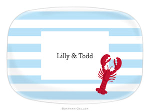 Stripe Lobster Platter
