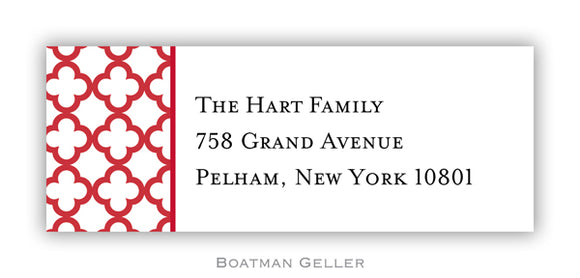 Bristol Petite Cherry Personalized Address Label
