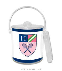 Crest Tennis Ice Bucket
