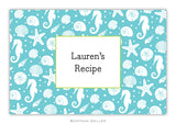 Jetties Teal Recipe Cards