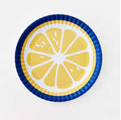 "Large Lemon ""Paper"" Platter"