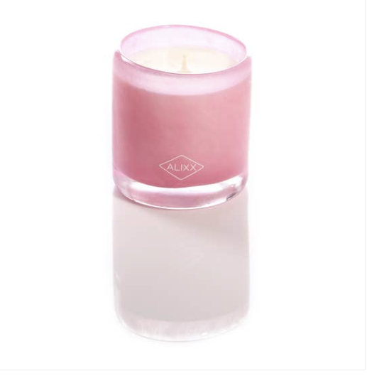 Small Cylindre Pivoine Candle