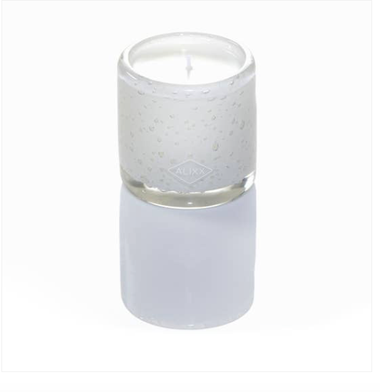 Small Cylindere Candle - Fleur Blanche