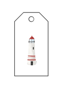 Nautical Gift Tags - Lighthouse