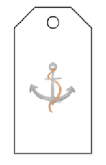 Nautical Gift Tags - Anchor