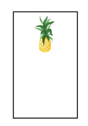 Pineapple Notepad Large