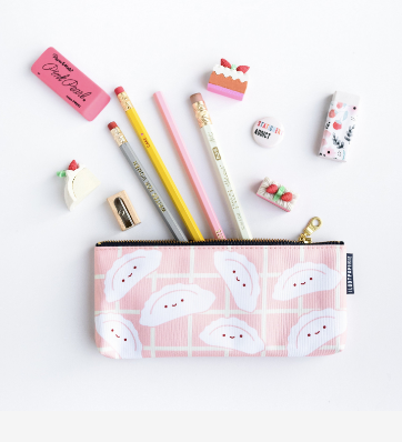 Happy Dumplings Pencil Pouch