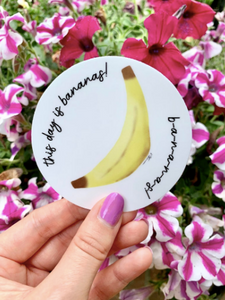 Sticker - This Day is Bananas