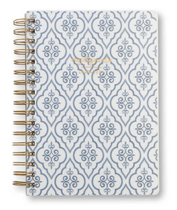 myAgenda Desktop Spiral - Damask
