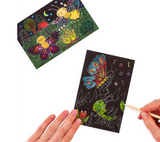 Mini Scratch & Scribble Art Kit : Bug