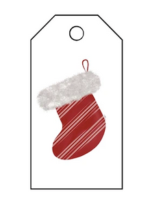 Holiday Gift Tag - Stocking