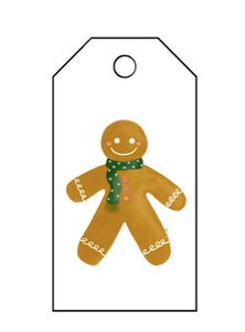 Holiday Gift Tag - Gingerbread