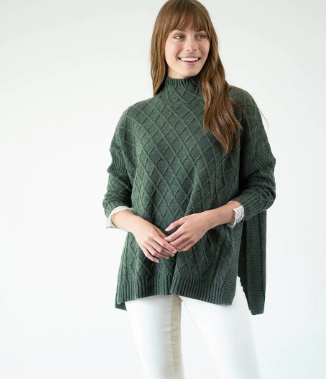 The Libson Traveler Sweater - Hazel