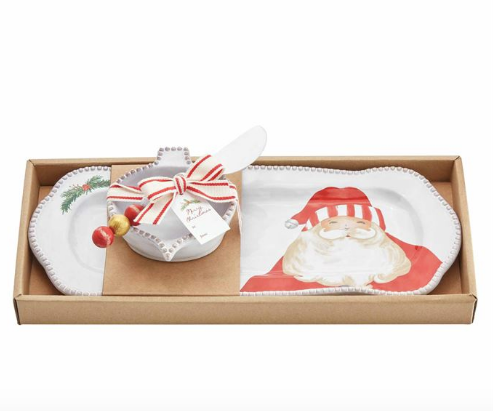 Santa Dip and Tray Set