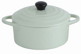 Stoneware Mini Baker with Lid
