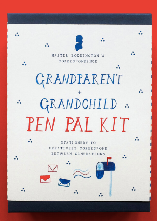 Grandparent and Grandchild Pen Pal Kit