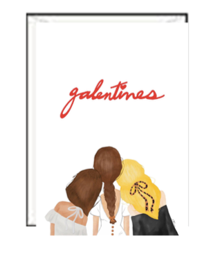 Galentines Valentine Greeting Card