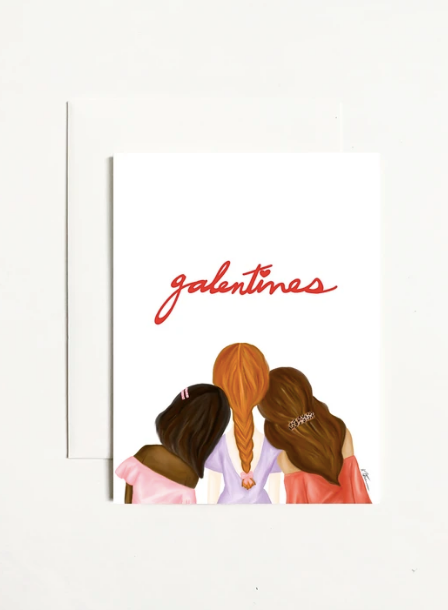 Galentine's Greeting Card
