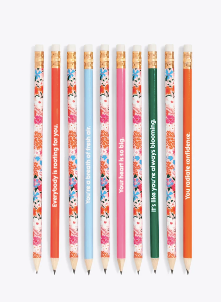 Write On Pencil Set