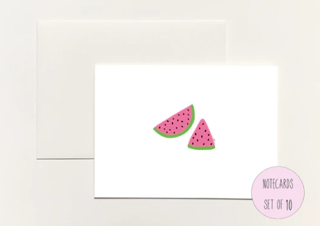 Watermelon Boxed Notecard