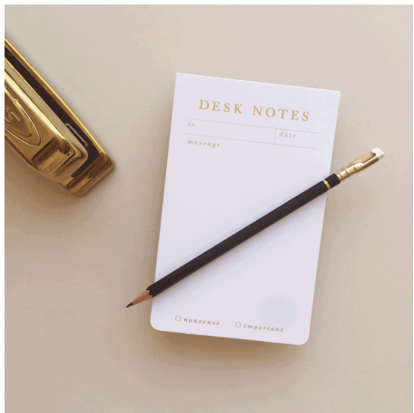 Desk Notes Notepad