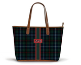 S Zippered Tote Armstrong Tartan