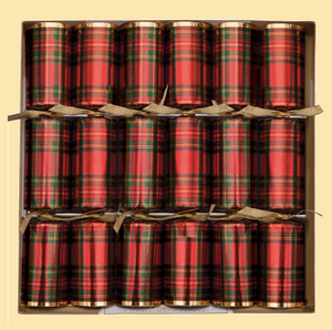 Plaid Christmas Crackers