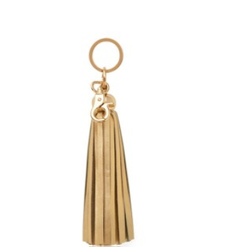 Tassel Key Chain - Gold