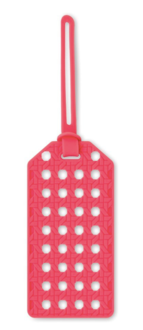 Luggage Tag - Coral Caning