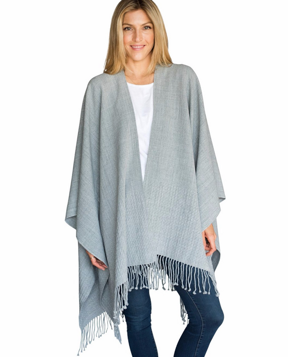 Fog Grey Travel Wrap