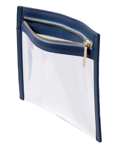 Clarity Clutch Small - Navy