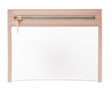 Clarity Clutch Small - Dusty Blush