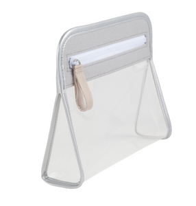 Clarity Pouch Small - Silver Grey