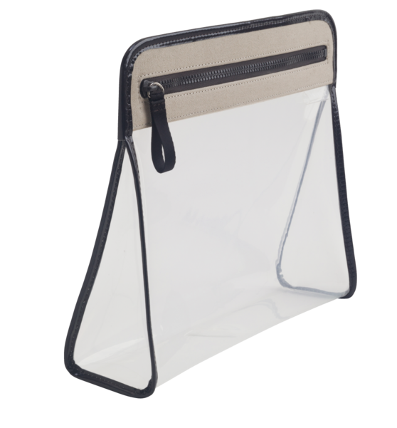 Clarity Pouch Large - Sand