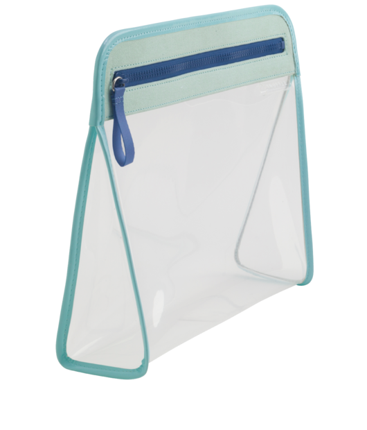 Clarity Pouch Large - Seafoam