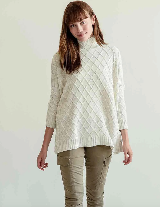 Libson Travel Sweater - Sea Salt
