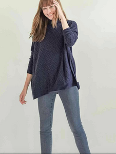 Libson Travel Sweater - Bleu