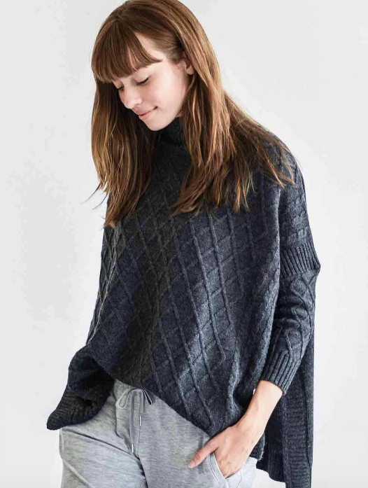 Libson Traveler Sweater - Storm