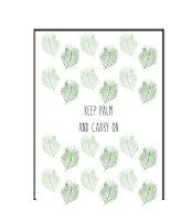 Keep Palm Greeting Card