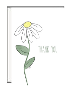 Daisy TY Greeting Card