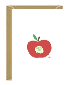 Apple Thank You Greeting Card