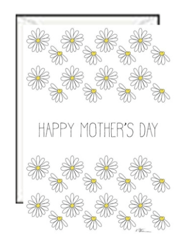 Daisy Mothers Day Greeting card
